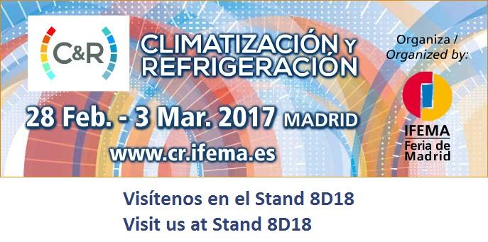 TAVER en Climatización y Refrigeración 2017 1
