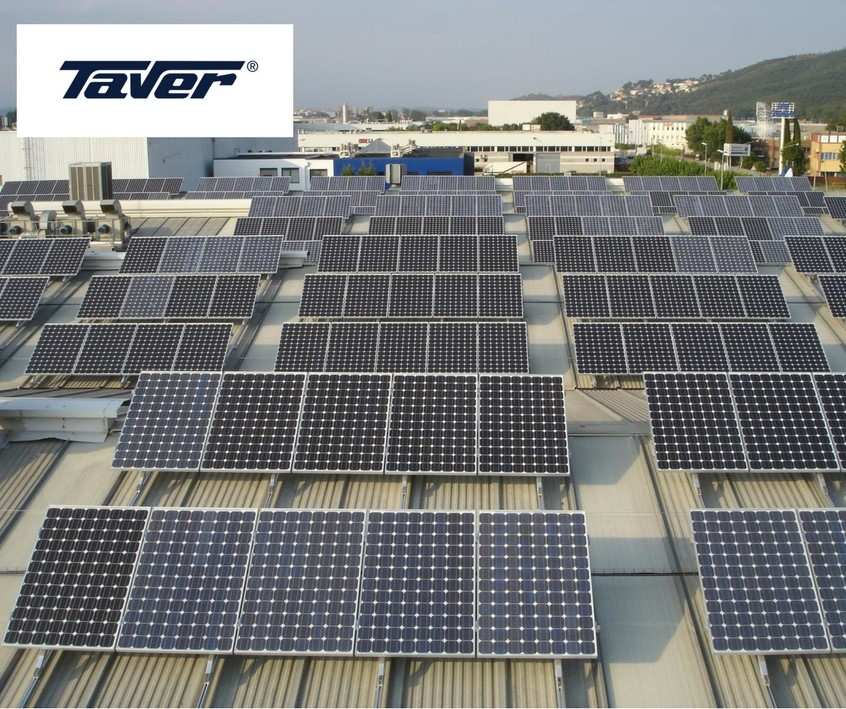 Photovoltaic installation at Taver has surpassed 1.000.000 kW generated!! 1