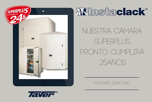 Before long we will celebrate 25 years of the Superplus, the modular Cold rooms from Taver 1