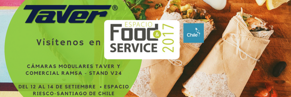 Taver® asistirá a la feria Food & Service 2017 en Santiago de Chile 1