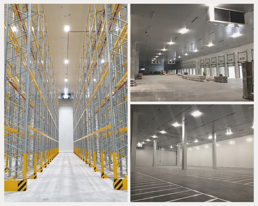 THE MOST EFFICIENT LOGISTICS SOLUTION FOR LARGE FOOD DISTRIBUTION CHAINS 1